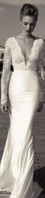 Trouwjurk oudere bruid