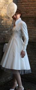 korte wijde jurk