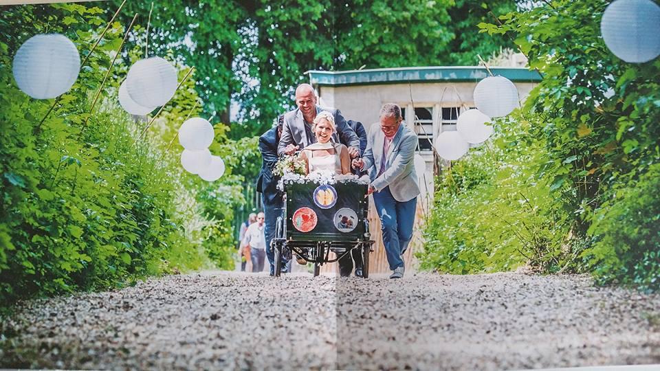 ongedwongen bruiloft