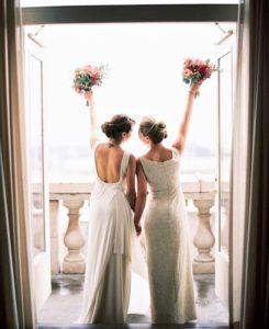 aparte trouwjurken vrouwen-huwelijk