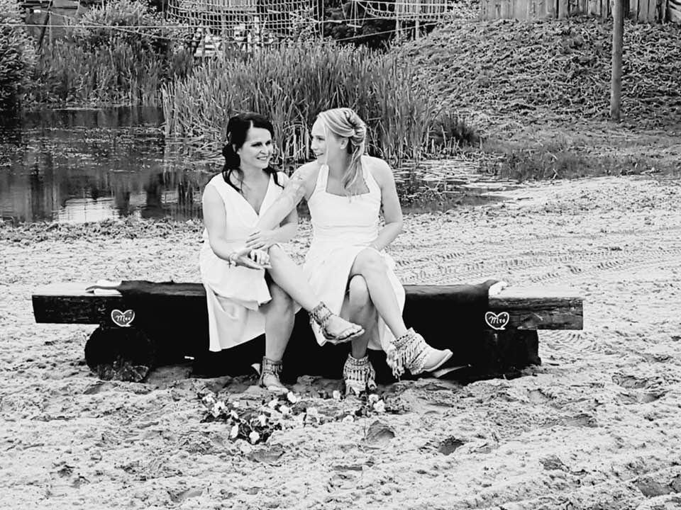 lief vrouwen duo
